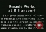 Image of Allied bombing Paris France, 1945, second 4 stock footage video 65675021874