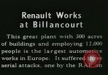 Image of Allied bombing Paris France, 1945, second 7 stock footage video 65675021874