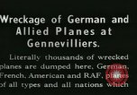 Image of Aircraft graveyard Paris France, 1945, second 2 stock footage video 65675021883