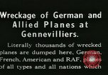 Image of Aircraft graveyard Paris France, 1945, second 4 stock footage video 65675021883