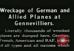 Image of Aircraft graveyard Paris France, 1945, second 6 stock footage video 65675021883