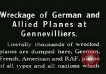 Image of Aircraft graveyard Paris France, 1945, second 7 stock footage video 65675021883
