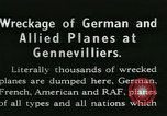Image of Aircraft graveyard Paris France, 1945, second 12 stock footage video 65675021883