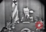 Image of Lyndon Johnson Fort Worth Texas USA, 1963, second 3 stock footage video 65675021902
