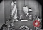 Image of Lyndon Johnson Fort Worth Texas USA, 1963, second 4 stock footage video 65675021902