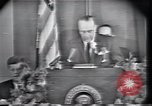 Image of Lyndon Johnson Fort Worth Texas USA, 1963, second 11 stock footage video 65675021902