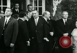 Image of President Lyndon Johnson at Glassboro Summit Glassboro New Jersey USA, 1966, second 11 stock footage video 65675021949