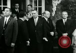 Image of President Lyndon Johnson at Glassboro Summit Glassboro New Jersey USA, 1966, second 12 stock footage video 65675021949