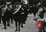 Image of military ceremony Paris France, 1918, second 6 stock footage video 65675021957