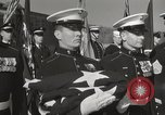 Image of Marine Corps War Memorial Arlington Virginia USA, 1954, second 10 stock footage video 65675021984