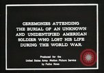 Image of first American Unknown Soldier selected in france France, 1921, second 11 stock footage video 65675021986