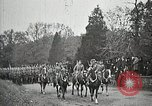 Image of Unknown Soldier of World War 1 arrives at Arlington National Cemetery Arlington Virginia USA, 1921, second 8 stock footage video 65675021989