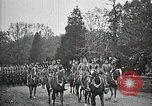 Image of Unknown Soldier of World War 1 arrives at Arlington National Cemetery Arlington Virginia USA, 1921, second 11 stock footage video 65675021989