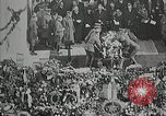 Image of first burial ceremony at Tomb of the Unknown Soldier Arlington Virginia USA, 1921, second 10 stock footage video 65675021991