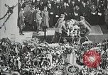 Image of first burial ceremony at Tomb of the Unknown Soldier Arlington Virginia, 1921, second 11 stock footage video 65675021991