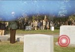 Image of military funeral Arlington Virginia USA, 1979, second 1 stock footage video 65675021996