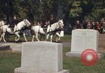 Image of military funeral Arlington Virginia USA, 1979, second 8 stock footage video 65675021996