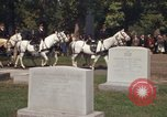 Image of military funeral Arlington Virginia USA, 1979, second 9 stock footage video 65675021996