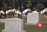 Image of military funeral Arlington Virginia USA, 1979, second 11 stock footage video 65675021996