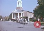 Image of military funeral Arlington Virginia USA, 1979, second 7 stock footage video 65675021998