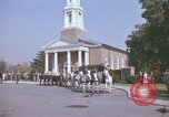 Image of military funeral Arlington Virginia USA, 1979, second 8 stock footage video 65675021998