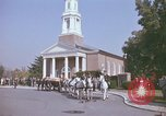 Image of military funeral Arlington Virginia USA, 1979, second 9 stock footage video 65675021998