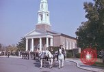 Image of military funeral Arlington Virginia USA, 1979, second 12 stock footage video 65675021998