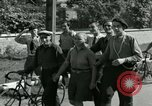 Image of woman collaborator Paris France, 1944, second 7 stock footage video 65675022025