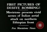 Image of Italian air attack Dessey Ethiopia, 1936, second 8 stock footage video 65675022041