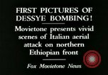 Image of Italian air attack Dessey Ethiopia, 1936, second 11 stock footage video 65675022041