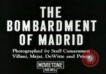 Image of Spanish Nationalist Army Madrid Spain, 1936, second 7 stock footage video 65675022043