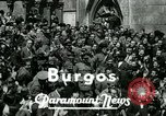 Image of General Francisco Franco Burgos Spain, 1937, second 2 stock footage video 65675022046