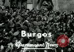 Image of General Francisco Franco Burgos Spain, 1937, second 3 stock footage video 65675022046