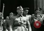 Image of General Francisco Franco Burgos Spain, 1937, second 10 stock footage video 65675022046