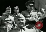 Image of General Francisco Franco Burgos Spain, 1937, second 12 stock footage video 65675022046