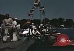 Image of motor boat race United States USA, 1945, second 3 stock footage video 65675022067