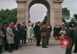 Image of British War Cemetary Normandy France, 1969, second 2 stock footage video 65675022077
