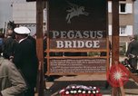 Image of Pegasus Bridge Normandy France, 1969, second 2 stock footage video 65675022078