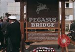 Image of Pegasus Bridge Normandy France, 1969, second 4 stock footage video 65675022078