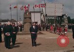 Image of Pegasus Bridge Normandy France, 1969, second 8 stock footage video 65675022078