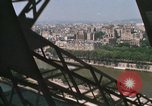 Image of Eiffel Tower views Paris France, 1969, second 9 stock footage video 65675022081