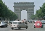Image of Arc de Triomphe Paris France, 1969, second 8 stock footage video 65675022082