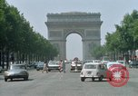 Image of Arc de Triomphe Paris France, 1969, second 9 stock footage video 65675022082