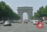Image of Arc de Triomphe Paris France, 1969, second 10 stock footage video 65675022082