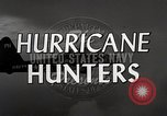 Image of hurricane hunting Miami Florida USA, 1955, second 9 stock footage video 65675022098