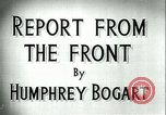 Image of Humphrey Bogart European Theater, 1944, second 5 stock footage video 65675022107