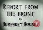 Image of Humphrey Bogart European Theater, 1944, second 7 stock footage video 65675022107