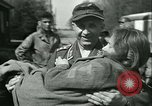Image of victims of concentration camp Germany, 1945, second 11 stock footage video 65675022108