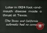 Image of foot and mouth disease United States USA, 1925, second 4 stock footage video 65675022116