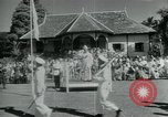 Image of Malaysian dance and culture Pahang Malaysia, 1960, second 10 stock footage video 65675022143